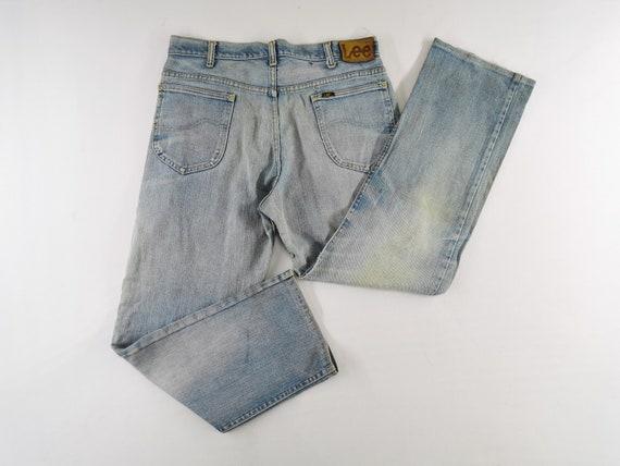 Lee Jeans Distressed Vintage Lee Jeans Pants Vint… - image 1