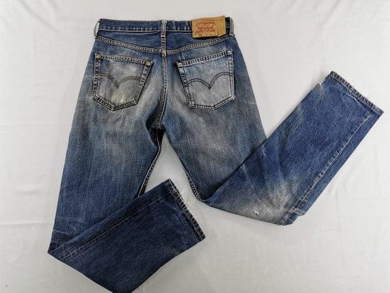 Levis 501 Jeans Distressed Vintage Size 31 Levis J