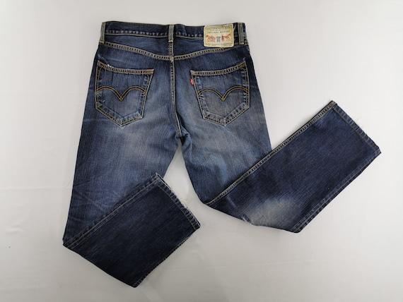 Levis 502 Jeans Distressed Size 33 Levis Denim Lev