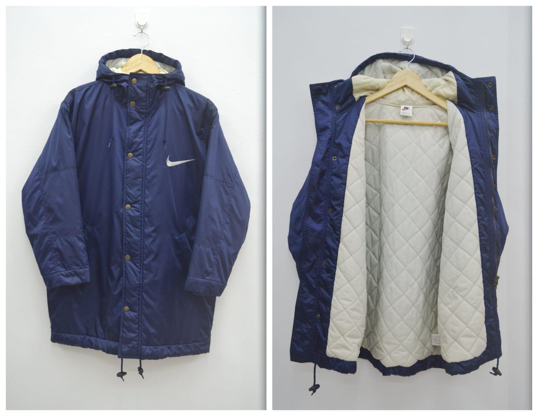 Cierto Tareas del hogar Por ley  Nike Jacket Nike Winter Jacket Nike Windbreaker Vintage | Etsy