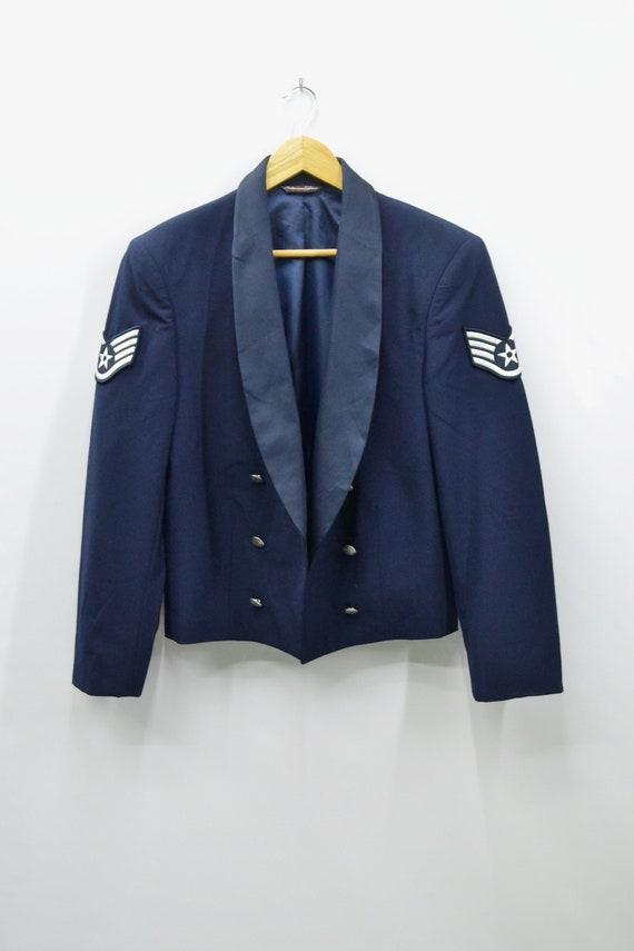 Patriot Styled By Weintraub Navy Blue Formal Dress Jacket Size Etsy