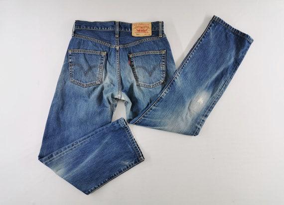 Levis 501 Jeans Distressed Size 29 Levis Jeans Pan
