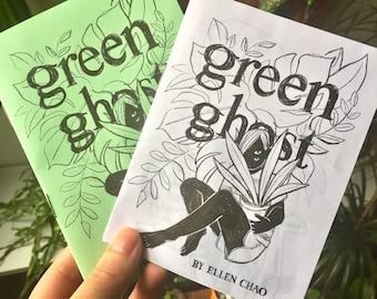 green ghost zine