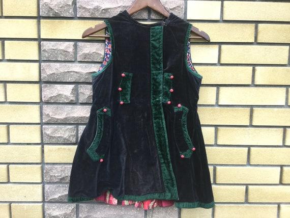 Antique 30s Ukrainian Vest Ethnic Clothing Traditi