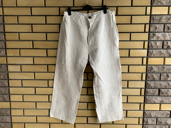 Peasant Pants Homespun Hemp Men's Trousers Ukraini