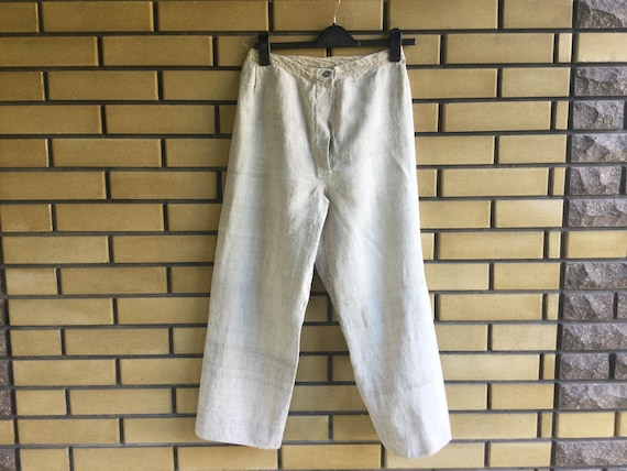 Peasant Pants Homespun Hemp Mens Trousers Ukrainia