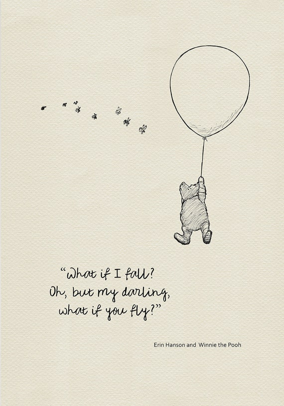 Erfly Quotes | What If I Fall Ohbut My Darlingwhat If You Fly Quote Etsy