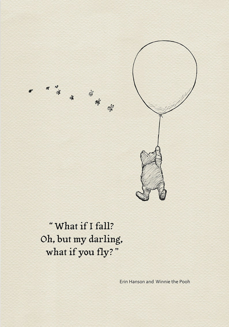 What If I Fall Ohbut My Darlingwhat If You Fly Quote Etsy