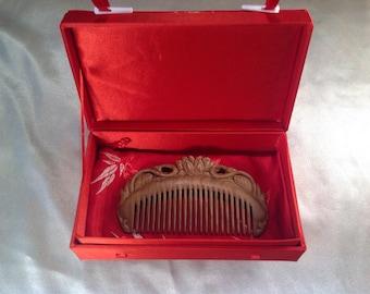 A0030- Wooden Comb