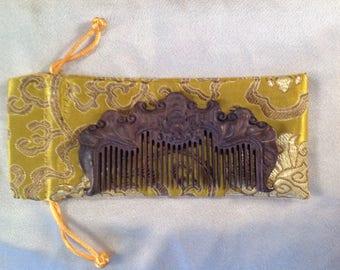 B0020- Wooden Comb