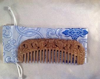 A0018L- Wooden Comb