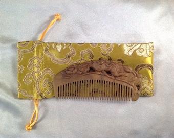 A0025- Wooden Comb