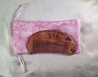B0009- Wooden Comb