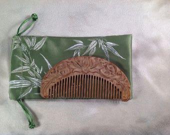 B0008- Wooden Comb