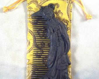 B0017- Wooden Comb