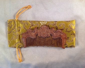 B0021- Wooden Comb