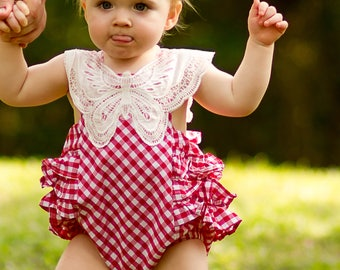 9df2a01dab49 Red gingham baby