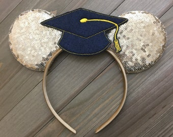 Disney graduation cap | Etsy