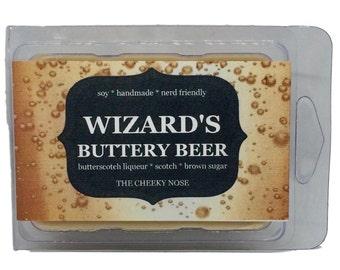 Butterscotch Wax Melts, Scented Wax Melts, Soy Wax Melts, Buttery beer, Wizard Wax Tarts, Wizard Wax Melts, Butterscotch Tarts, Wax Tarts