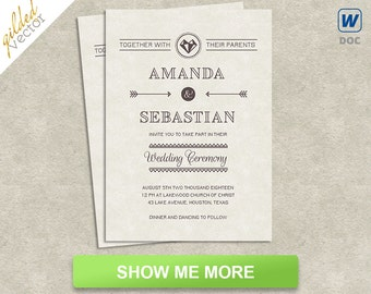 greek wedding template greek word design wedding invite etsy