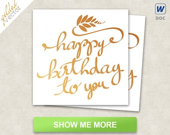 diy happy birthday card graceful birthday card birthday card etsy