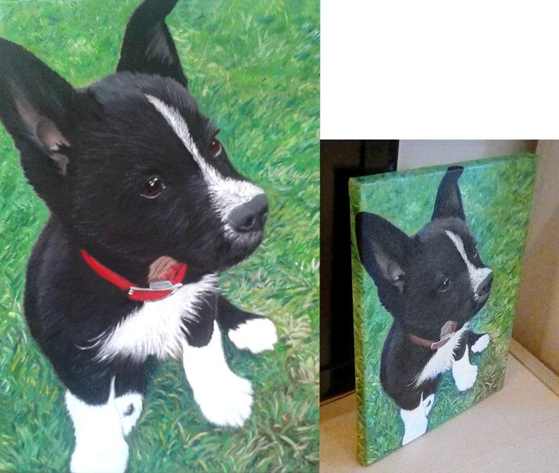 Digital Pet Portrait Commission Portrait Order Pet Portrait Personalized Dog Portrait Personalized Pet Portrait Custom Dog Portrait