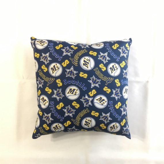 Mlb Seattle Mariners Complete 15 Baseball Throw Pillow Etsy