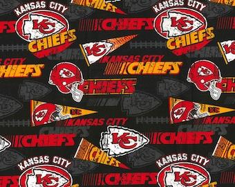 kansas city chiefs fabric
