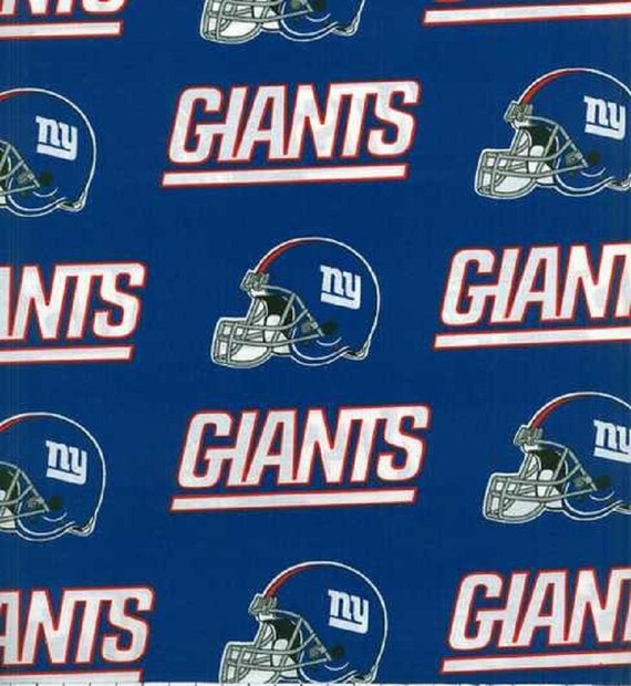 best service e0439 21e8d New NFL New York GIANTS Football 100% cotton fabric material you choose  length licensed Crafts, Quilts, Home Decor