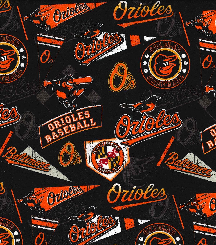 Mlb Baltimore Orioles Vintage Retro Print Baseball 100