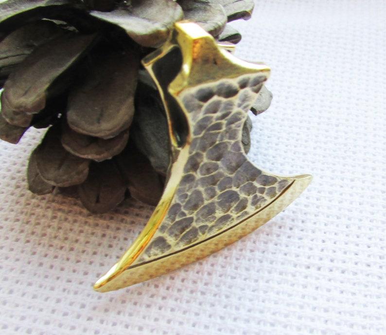 viking/'s axe mens pendant Big axe pendant bronze handcrafted