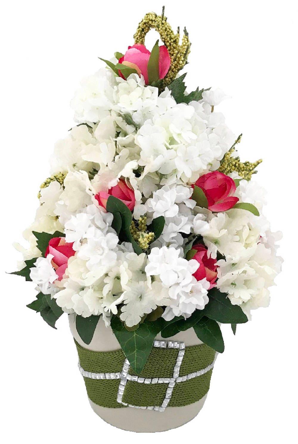 Artificial Floral Arrangement Faux Floral Arrangement Viburnum