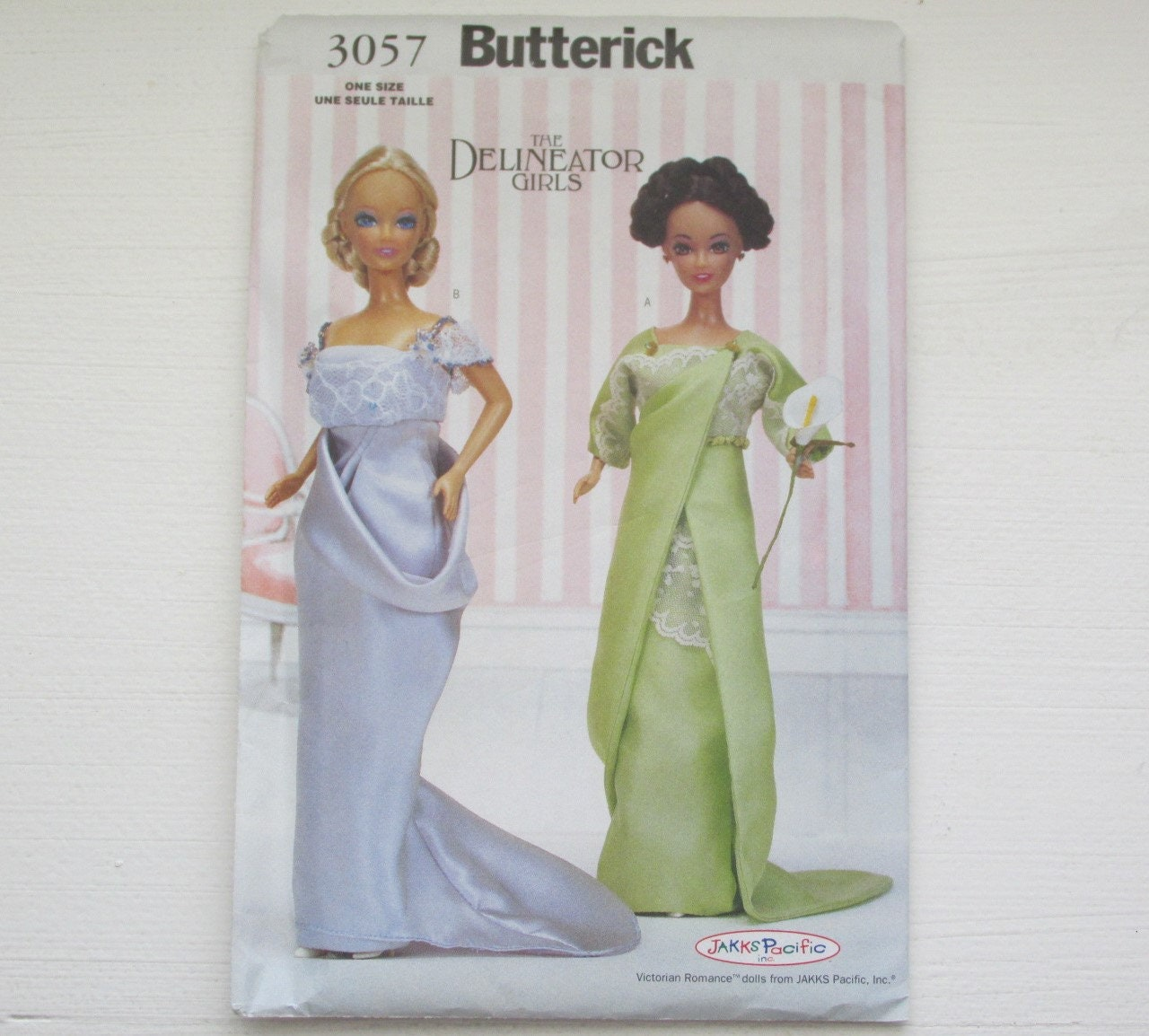 Butterick 3057 Delineator Girls Circa 1912 Doll Clothes