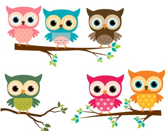 Image result for baby owls clipart