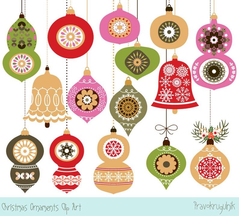 Christmas Ornament Clipart Christmas Decor Clip Art Christmas Tree Ornament Graphics Christmas Balls Images Christmas Bauble Clipart
