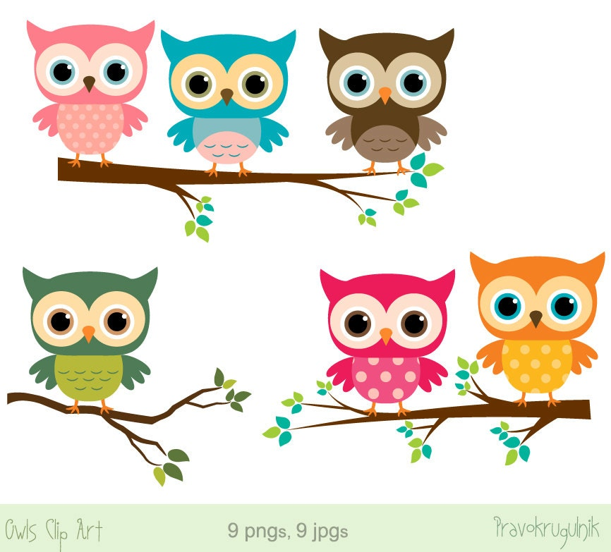 baby owl clip art girl owl clipart rainbow owls on branches etsy rh etsy com cute baby owl clipart baby owl clipart free