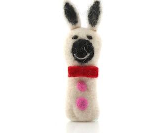 Rabbit Finger Puppet/Felt