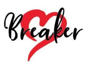 Heart Breaker- Custom Valentines Tshirt/Raglan-boys or girls