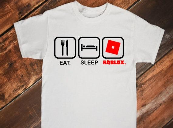 eat sleep roblox shirt all sizes available