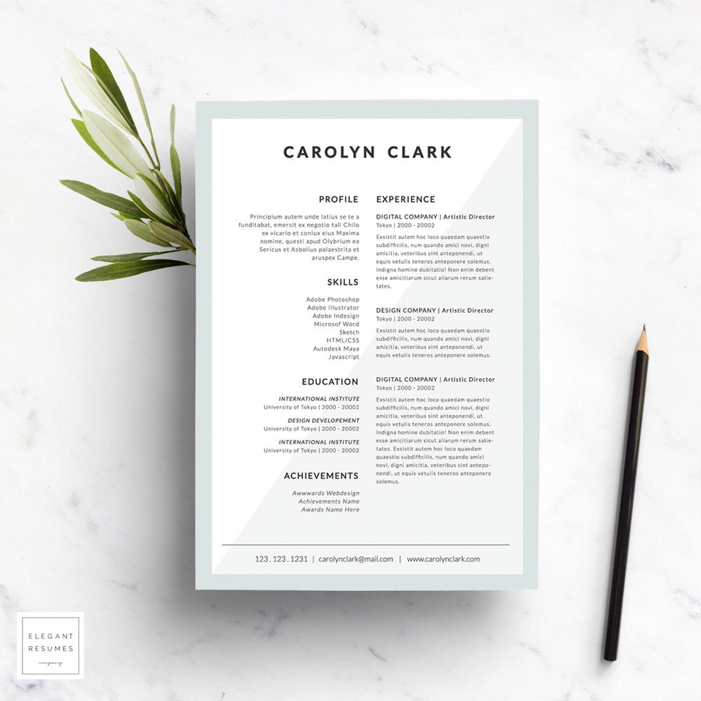 Lettre De Motivation Template: Templates Modernes Templates CV Lettre De Motivation