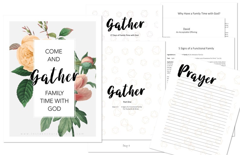 Come and Gather: Family Time With God PDF download eBook image 0