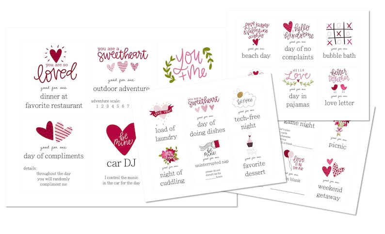30 Lunchbox LOVE Coupons PDF download printable image 0