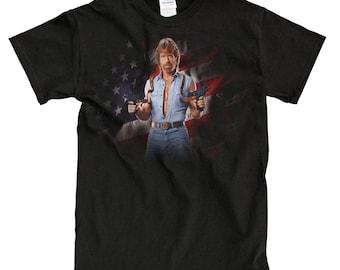 7db9fd0890e4 Chuck Norris Black T-Shirt - High-Quality! Ready to Ship!