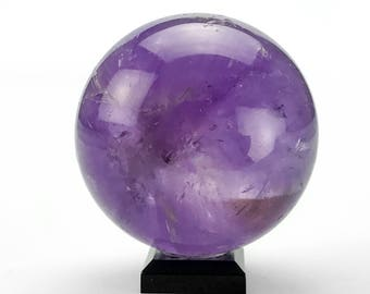 Polished Amethyst Sphere