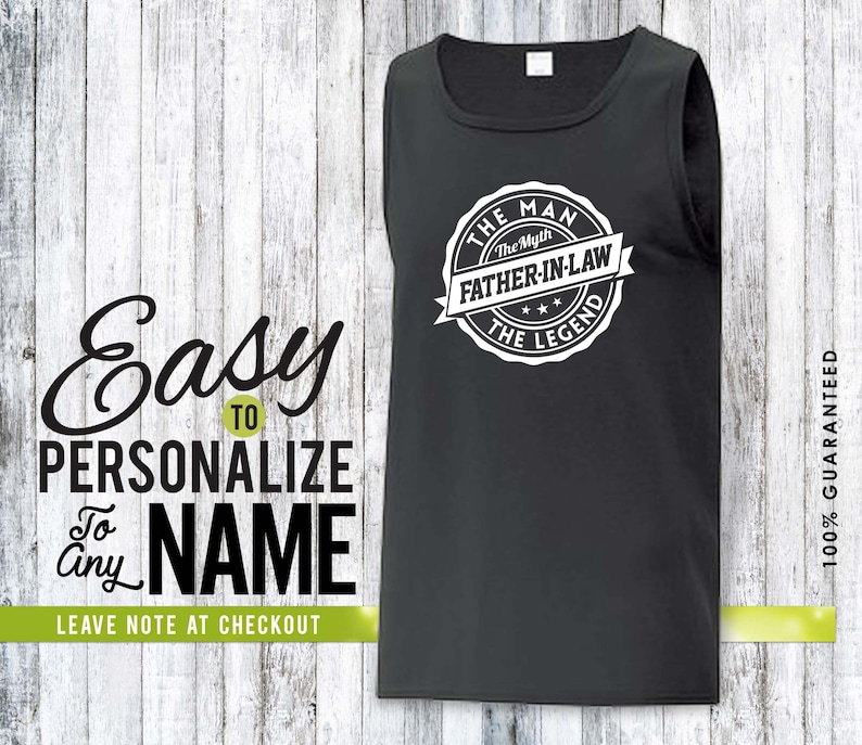 personalized gift gift family shirt tank top father-in-law shirt Father-in-law gift birthday gift birthday birthday shirt family