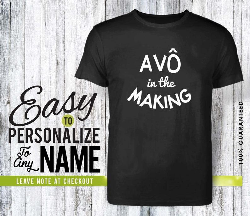 birthday shirt tshirt birthday gift personalized gift 50s av\u00f4 gift shirt birthday family shirt 40s family tree Av\u00f4 in the making