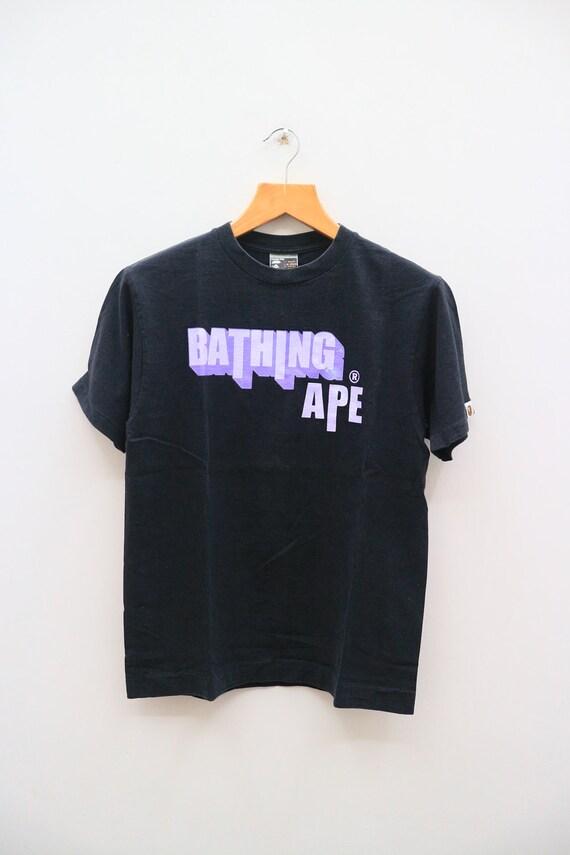 1ffb9b7b Vintage A BATHING APE Bape Ape Shall Never Kill Ape Big Spell | Etsy