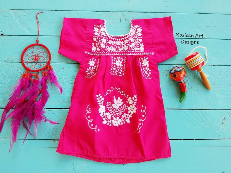 Girl Fiesta Party Birthday Girl Outfit Cinco De Mayo Holiday Dress Birthday Smash Cake Outfit New Born Baby Mexican Dress