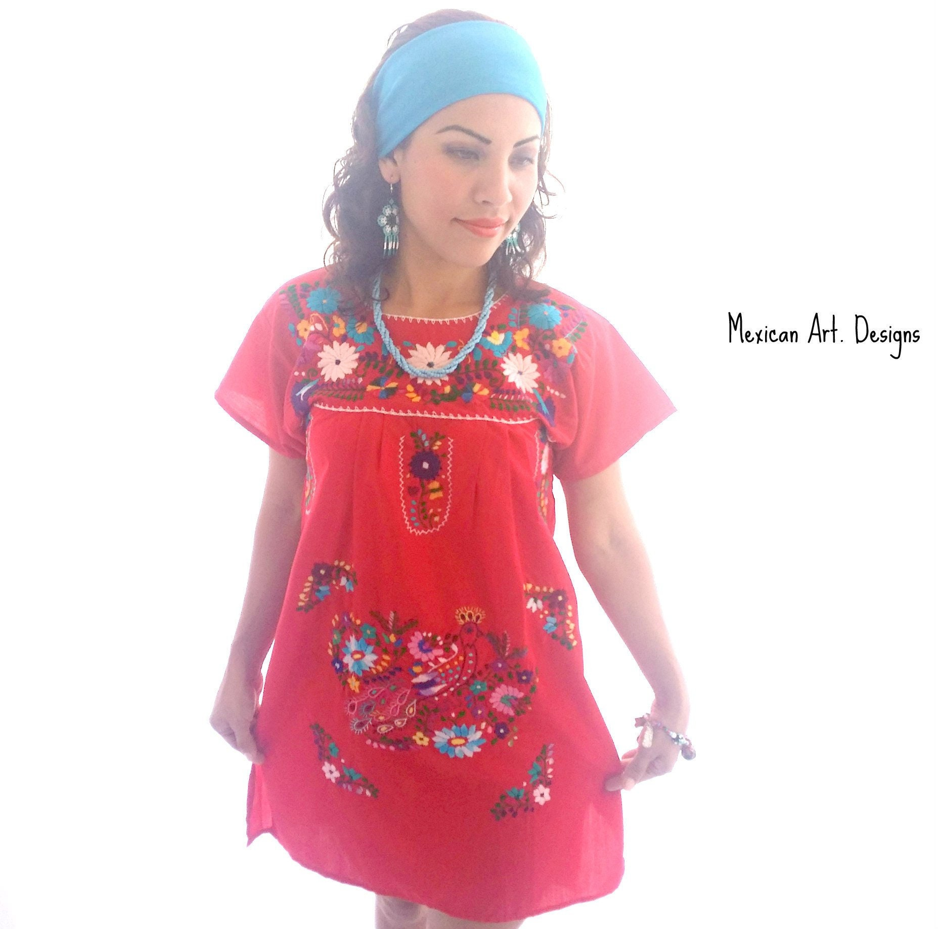 Mexican Mini Dress