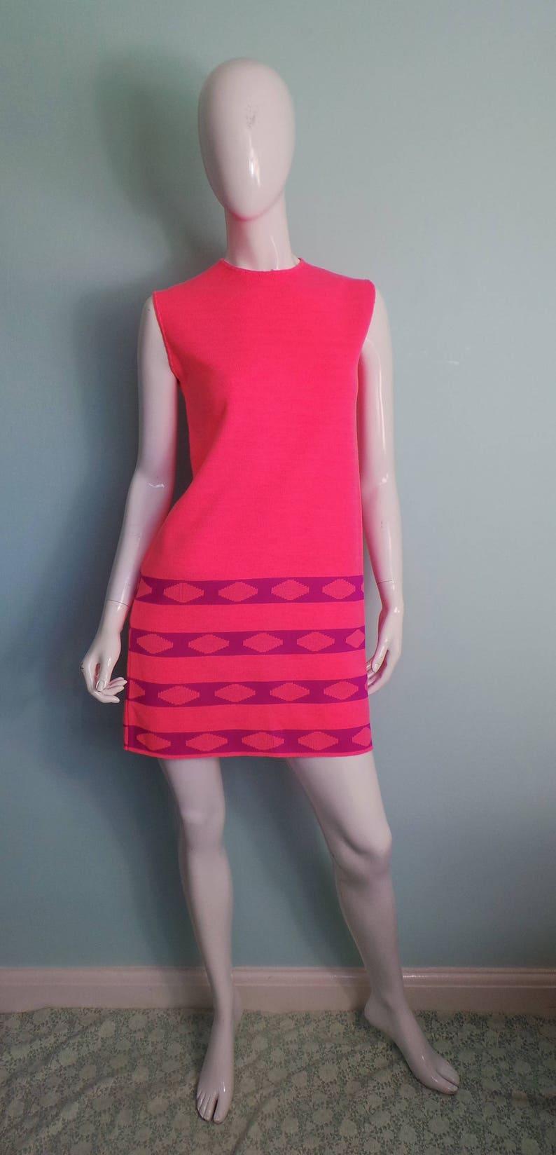 Regular Neon Hot Pink Short Dresses
